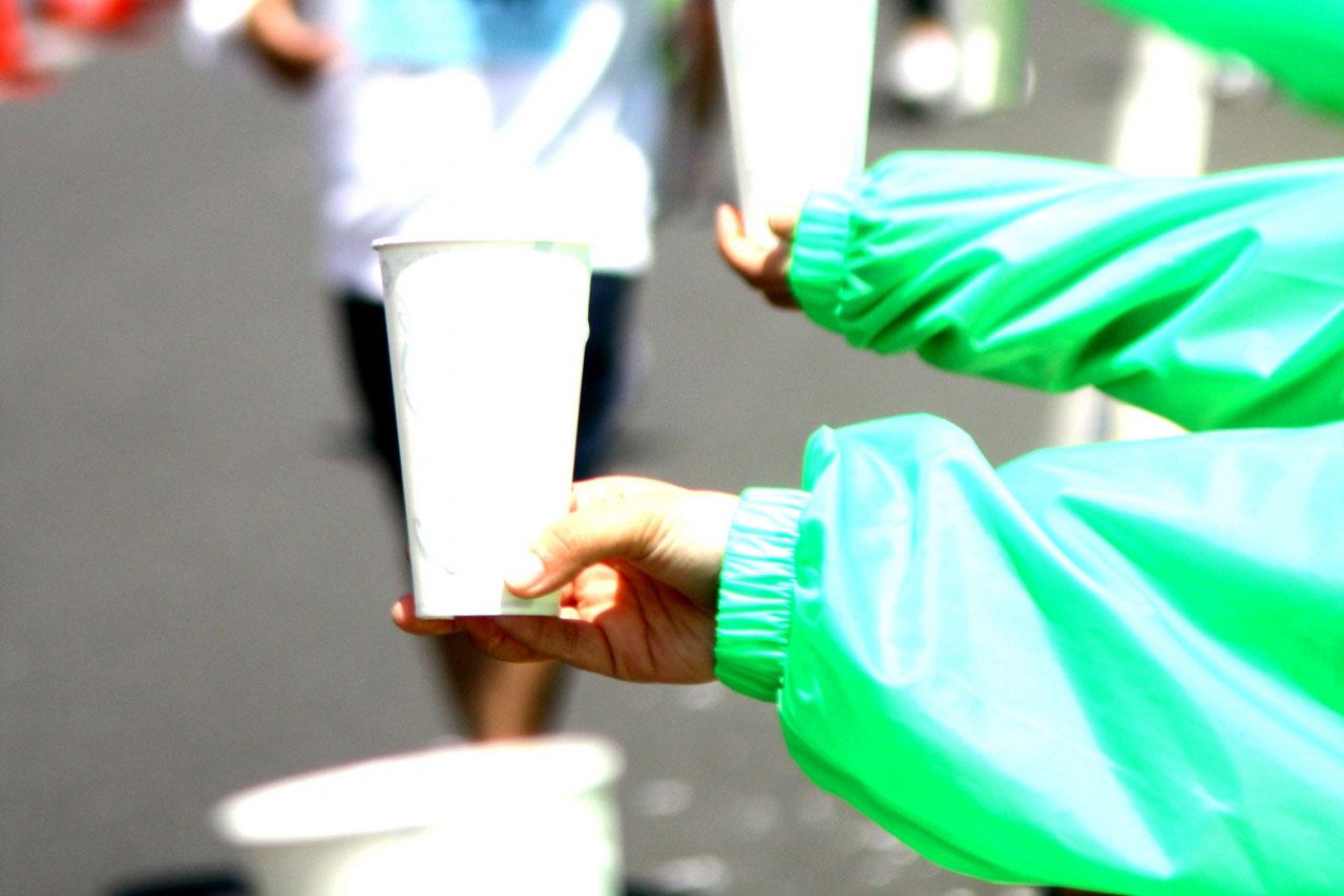レース当日の給水でおさえておきたい4つのポイント